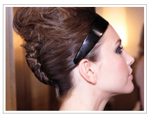 60's Inspired Teased Crown look - DIY Glamorous & Chic Holiday Hairstyles