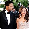 Aishwarya Rai Bachchan with her hubby at the Cannes Film Festival 2008