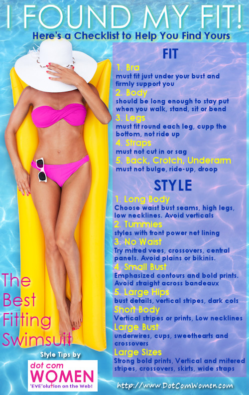 Choosing the Best Fitting Swimsuit for Your Style