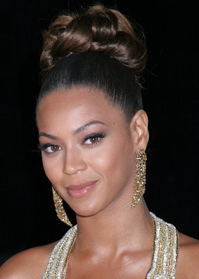 Beyonce Updo Hairstyle #4 - Celebrity Hairstyles - Dot Com Women