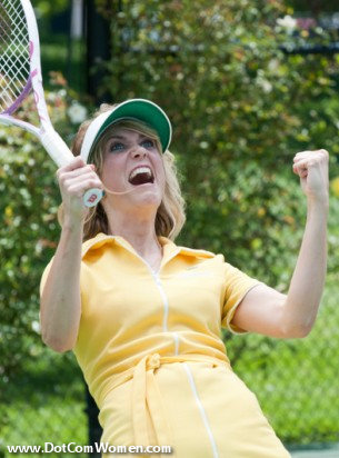 Kristen Wiig's yellow Tennis dress in Bridesmaids