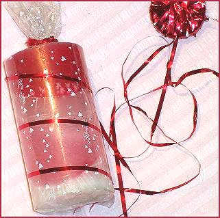 Gift Wrapping Candles