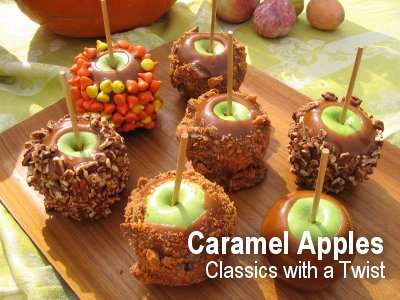 Caramel Apples - Classics with a Twist