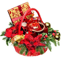 Christmas Themed Gift Baskets