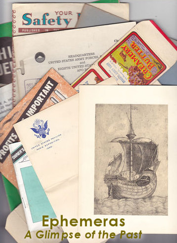 Collecting Ephemera
