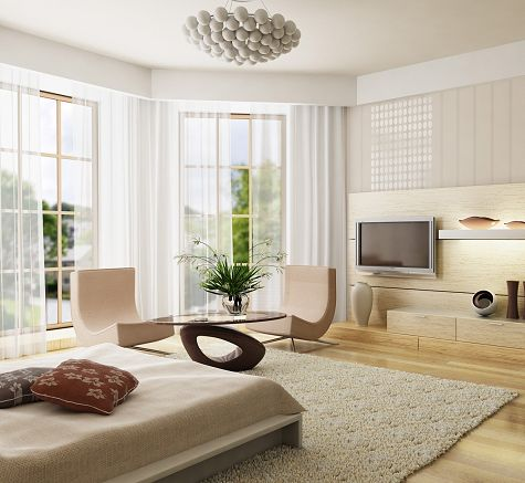 decorating a bedroom in a modern contemporary style - Modern Bedroom Decoration