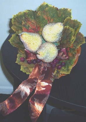 Cornucopia Centerpiece Idea for Thanksgiving