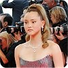 Devon Aoki at the Cannes Film Festival 2008 wearing Alberta Ferretti