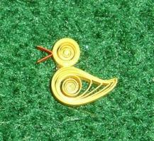 quilled duckling
