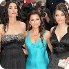 The L'Oreal Girls - Eva Longoria Parker, Aishwarya Rai Bachchan and Rachida Brakni at the Cannes Film Festival 2008