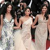 The L'Oreal Girls - Eva Longoria Parker, Aishwarya Rai Bachchan and Rachida Brakni at the Cannes Film Festival 2008 - Day 2
