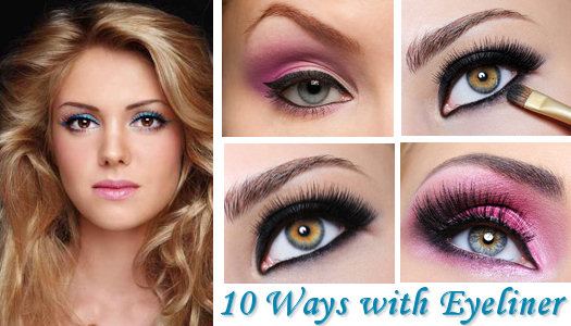 10 Different Ways to Apply Eyeliner
