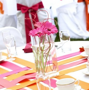 Frugal Wedding Decorating