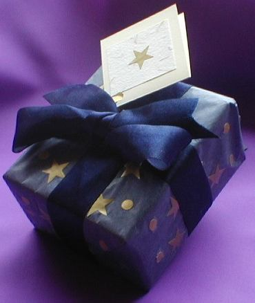 Tissue Paper & Stars Wrapping paper
