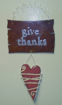 Give Thanks Magnet, Thanksgiving Project