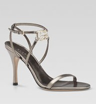 Gunmetal Gray High Heel Shoes from Gucci - Holiday Fashions 2007