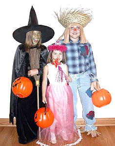 Three Easy Halloween Costumes
