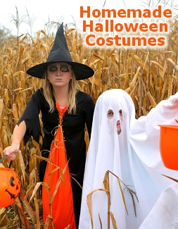 Homemade Halloween Costumes - Ideas and Inspirations Pumpkin  sc 1 st  Dot Com Women & Homemade Halloween Costumes for Kids - Ideas and Inspirations - Dot ...