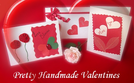 Handmade Valentine Card Ideas on Pretty Handmade Valentines     Valentine   S Day Card Crafts