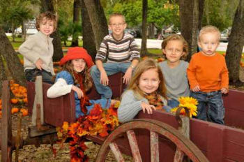 How to throw a Hayride Party - Fall Party Ideas
