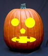 Jack O Lantern Face Pumpkin Carving pattern