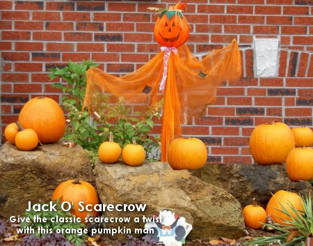 Jack O Scarecrow 5 Favorite Outdoor Halloween Decorations Dot