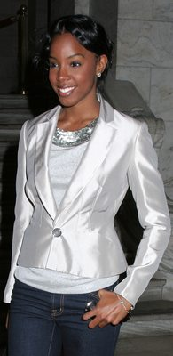 Kelly Rowland at the Mercedes-Benz Fashion Week Fall 2007