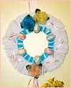 Lace Easter Egg Wreath