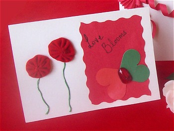 Love Blooms Valentine Handmade Valentines Project Dot Com Women