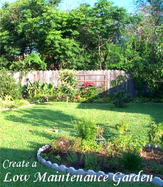 Create a low maintenance garden dot com women for Creating a low maintenance garden