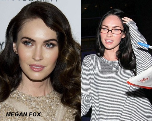Megan Fox No Makeup 2012 Celebrities WithoutMegan Fox 2012 No Makeup