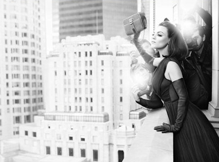 Mila Kunis as a Retro 50s Star for Dior Handbags Campaign