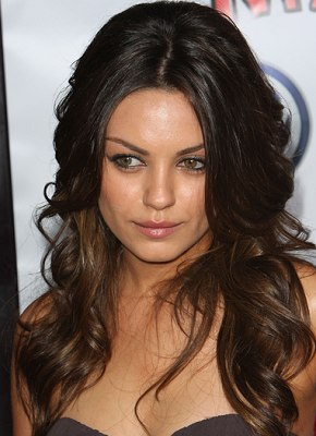 mila kunis hairstyle  long hairstyles for women  dot com