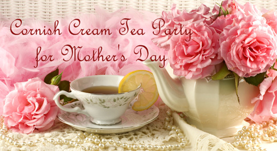 Cornish Cream Tea Party for Mother's Day