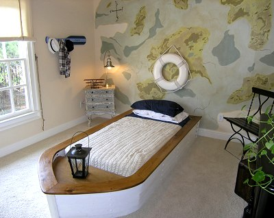Boy 39 s bedroom nautical theme kids 39 room decorating for Boys nautical bedroom ideas