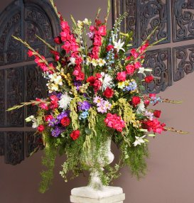 Decorating Ideas For A Wedding Reception - View Larger Photo Of Beautiful Wedding Flowers