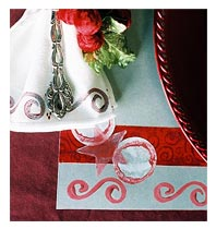 Holiday Painted Placemats