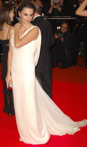 Penelope Cruz at the Cannes Film Festival 2008 wearing Marchesa-Chopard