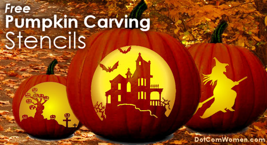 Free Pumpkin Carving Stencils Part 54