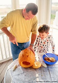 Pumpkin Carving Dangers - Safety Tips to prevent hand injuries