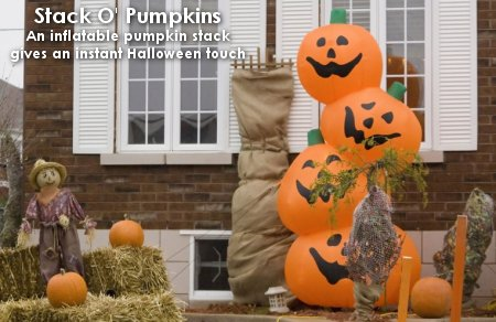 stack o pumpkins 5 favorite outdoor halloween decorations - Outdoor Inflatable Halloween Decorations