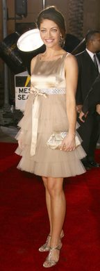 Rebecca Gayheart at the 33rd People's Choice Awards 2007 - Worst Dressed