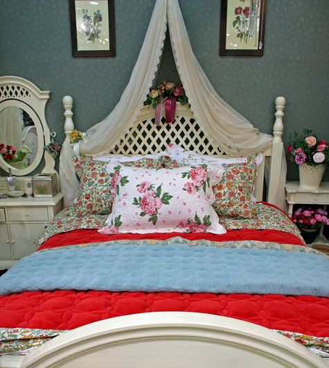 Romantic Victorian Shabby Chic Bedroom – Bedroom Decorating Ideas