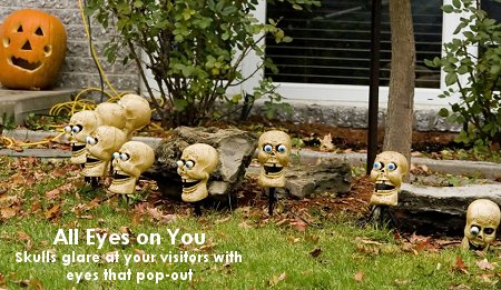 All Eyes on You - 5 Favorite Outdoor Halloween Decorations