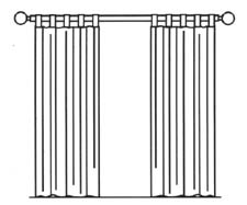 Common Forms Of Curtain Arrangements