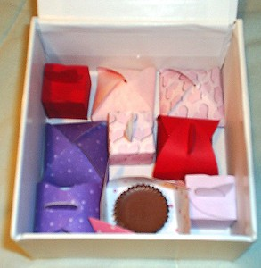 Handmade Valentine Treat Box - Homemade Valentine's Day Gift Idea for Men