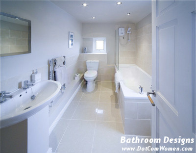 Cleaning the Bathroom: Get a Shining Bathroom from the Mirror to the Tub