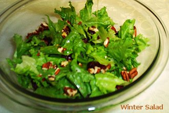 winter salad recipe elegant christmas dinner menu
