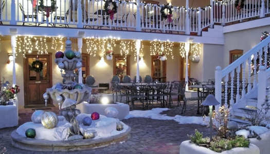 winter wonderland outdoor christmas decoration - Winter Wonderland Christmas Decorating Ideas