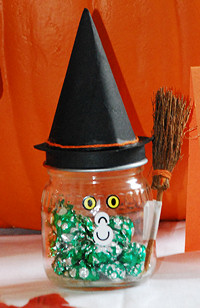 Witch Candy Holder Halloween Crafts Dot Com Women